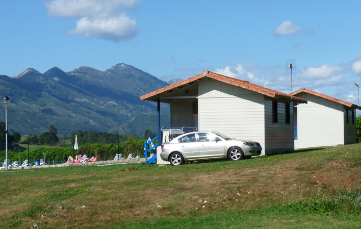 Camping Colombres bungalows