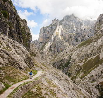 Trails in Asturias