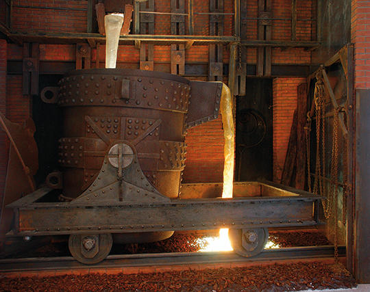 The Steelworks Museum of Asturias