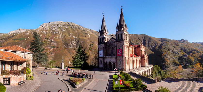 Surroundings of the Sanctuary of Covadonga