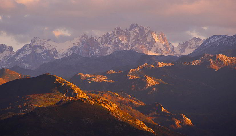 Picos de Europa from Llueves