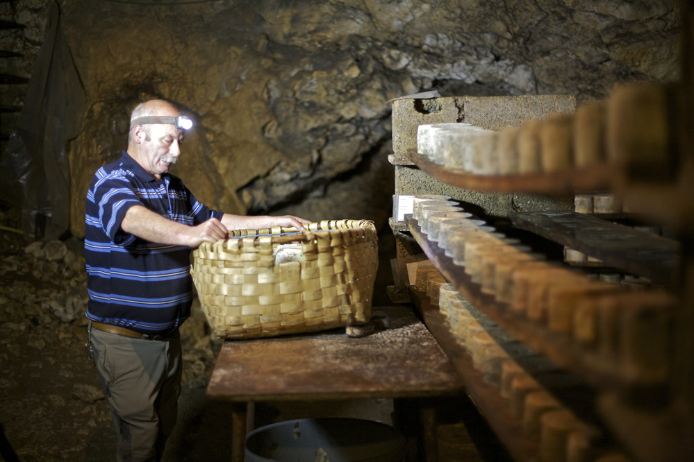 Cheese cave.