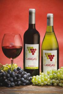 Cangas Quality Wines red and white.