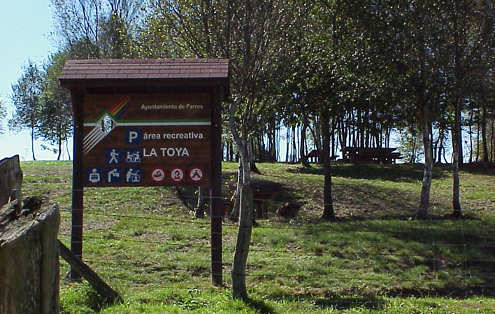 Área recreativa La Toya