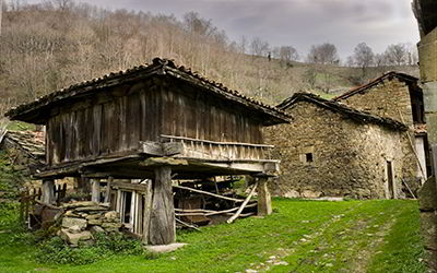 Granary in San Xusto