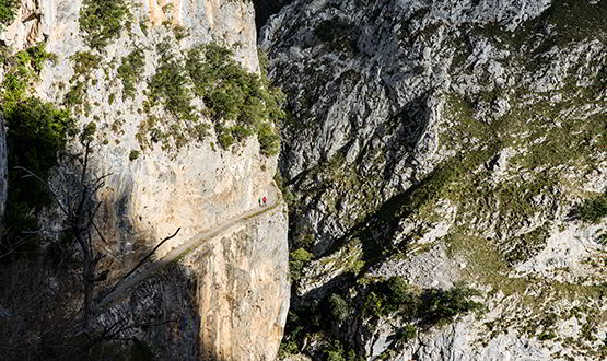 The Cares route (Cabrales)