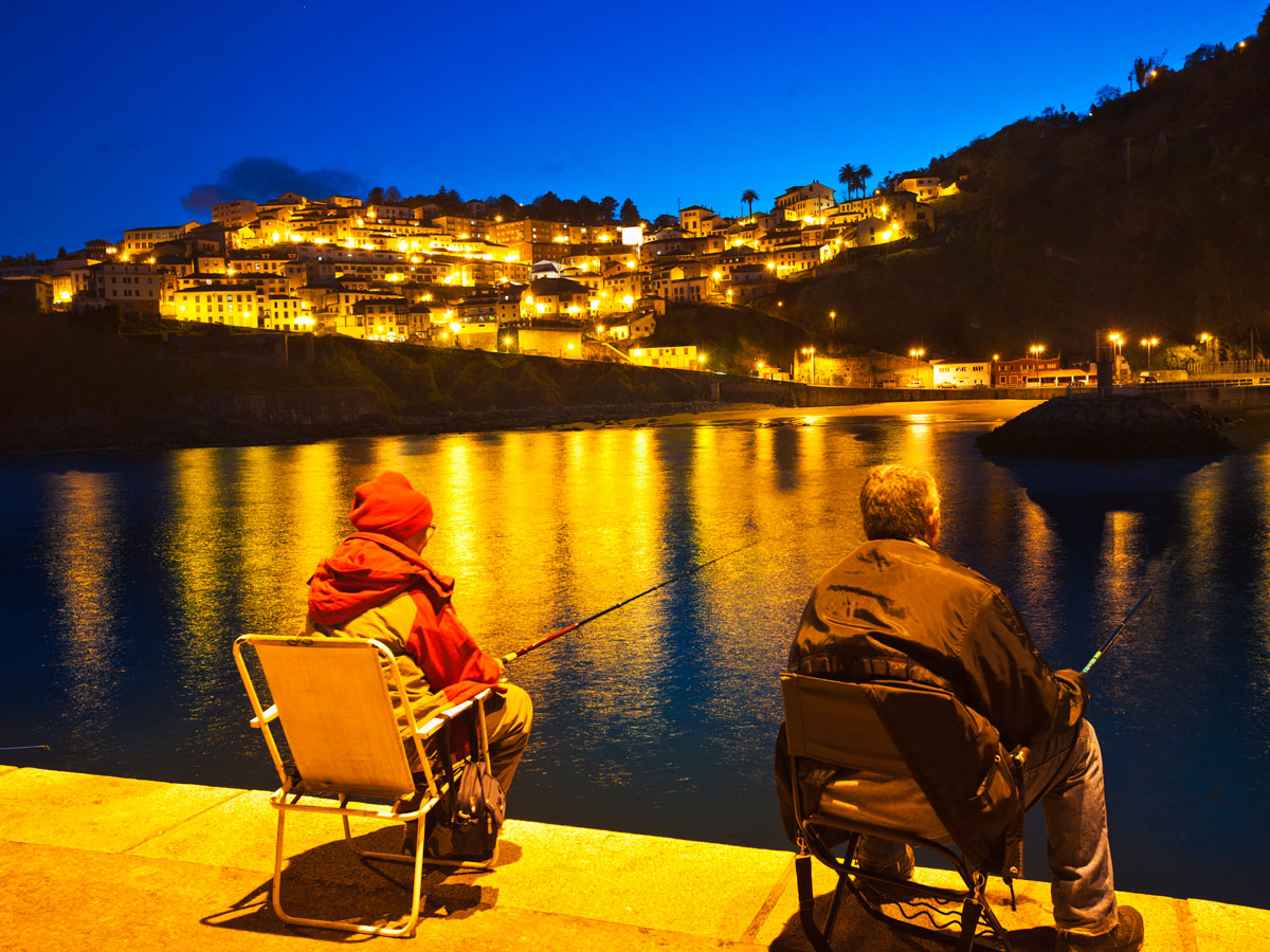 Fishermen in Lastres