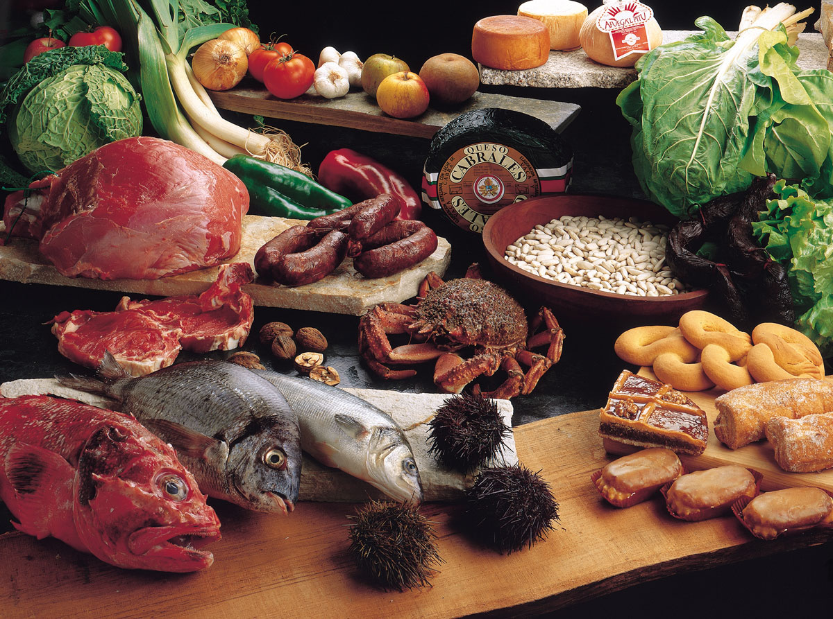 Fish and products of the Cantabrian Sea