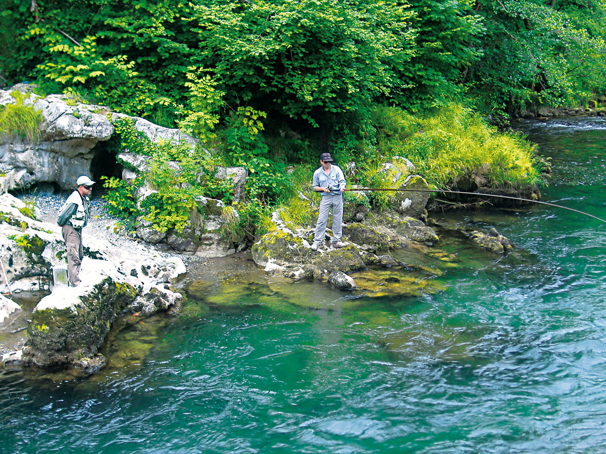 Fisherman in Sella River
