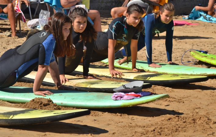 Tablas Surf School - curso de surf