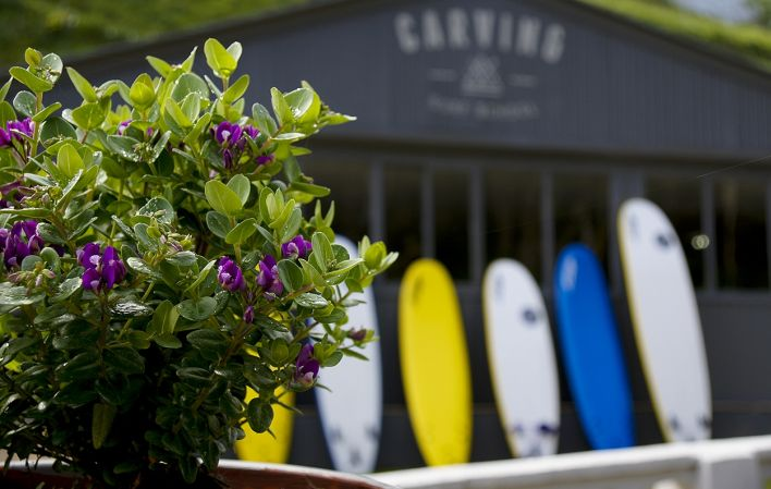 Carving Surf School Exterior