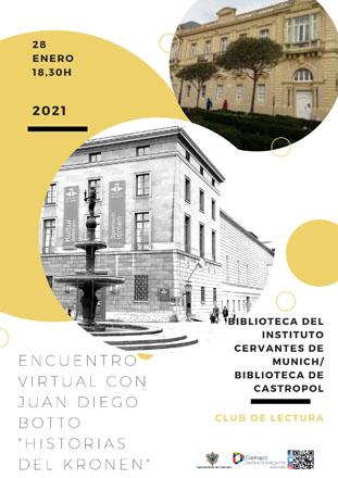 Encuentro virtual con Juan Diego Botto. Evento en Castropol
